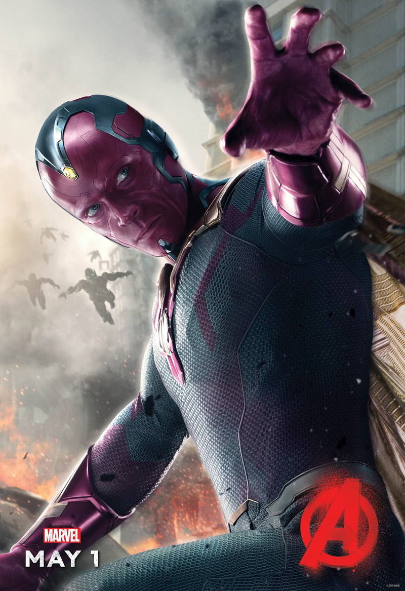 avengers age of ultron vision poster large