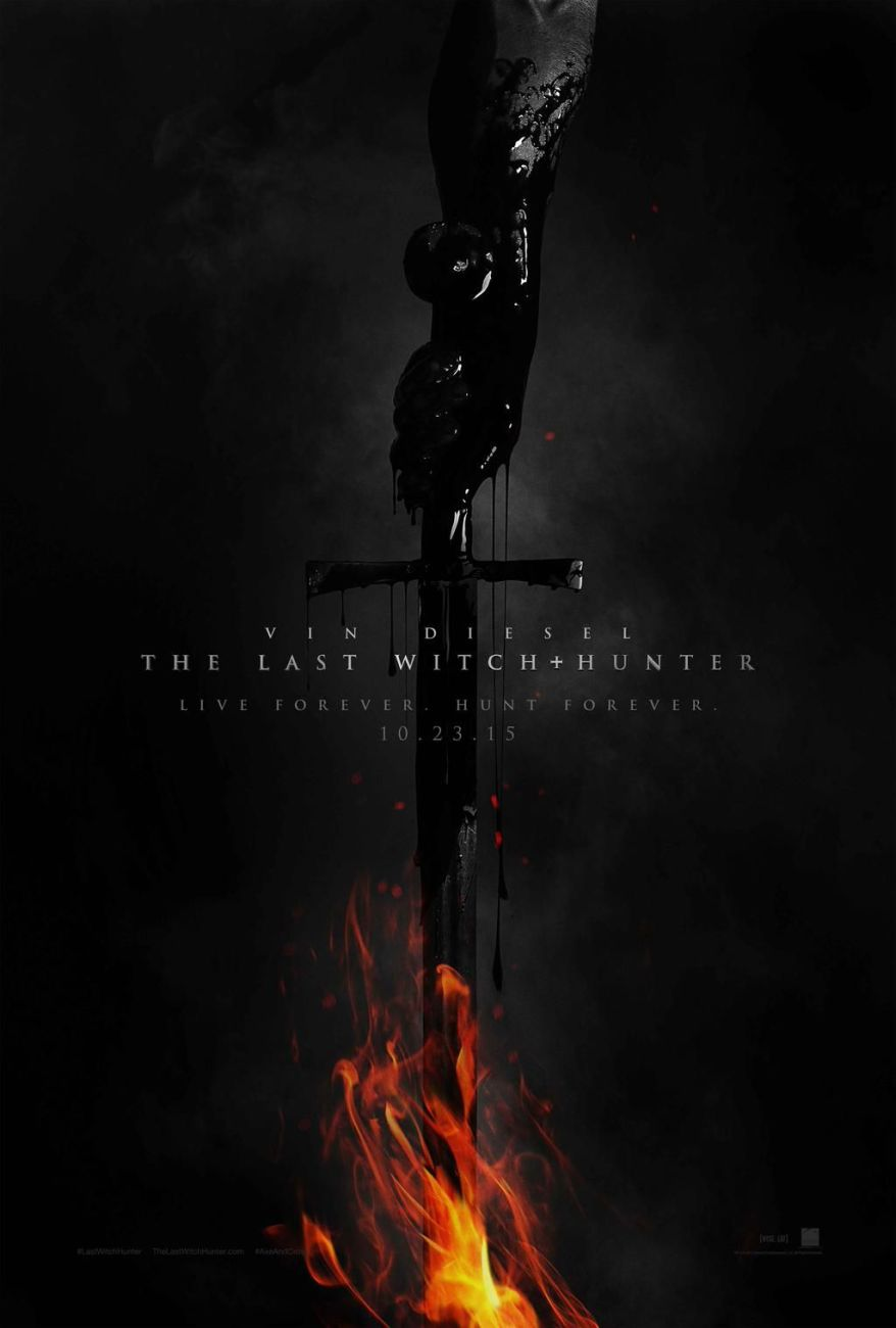 The Last Witch Hunter teaser poster