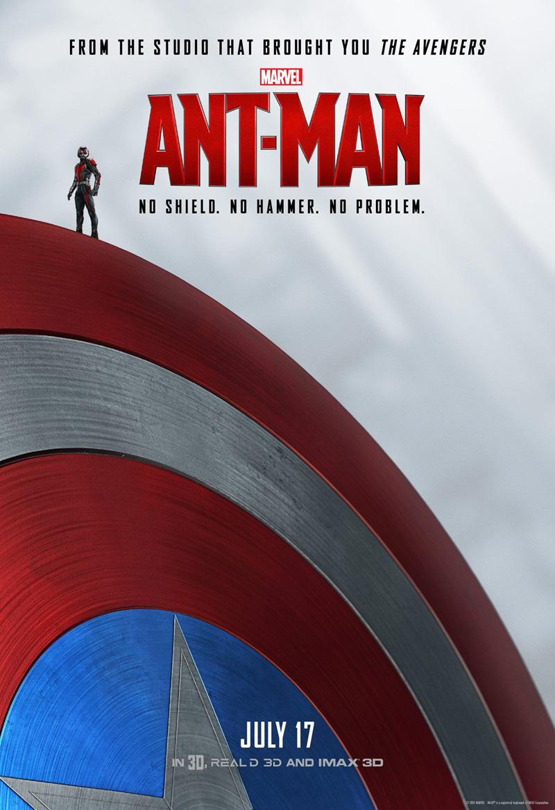 ant-man cap poster
