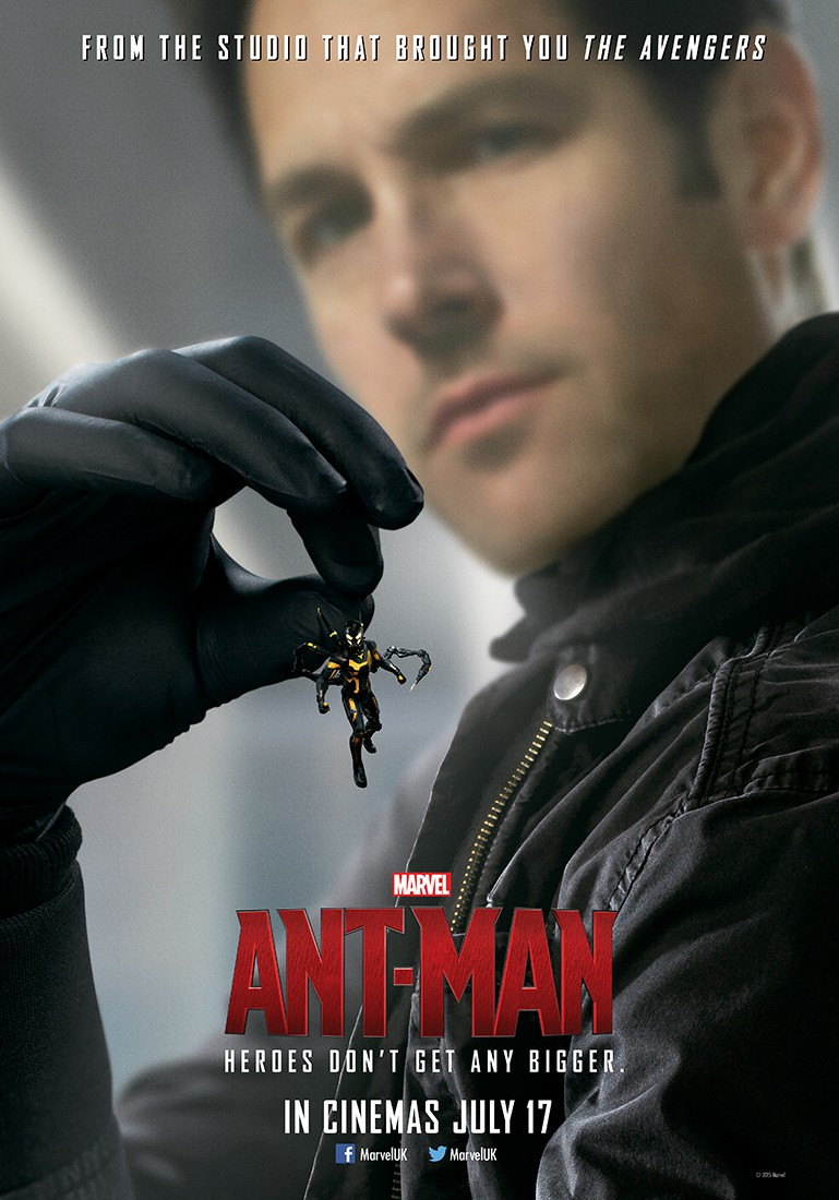 ant man uk poster