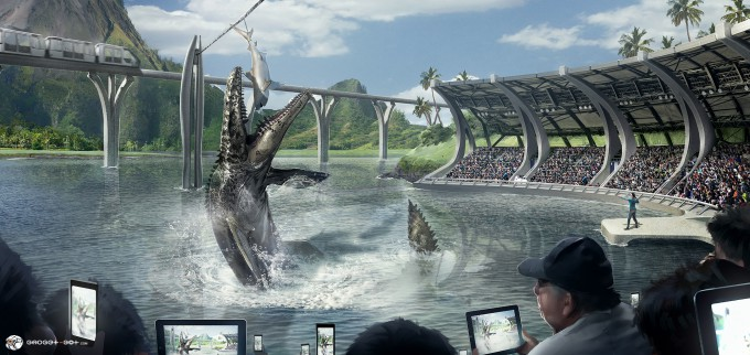 Jurassic World Concept Art 04