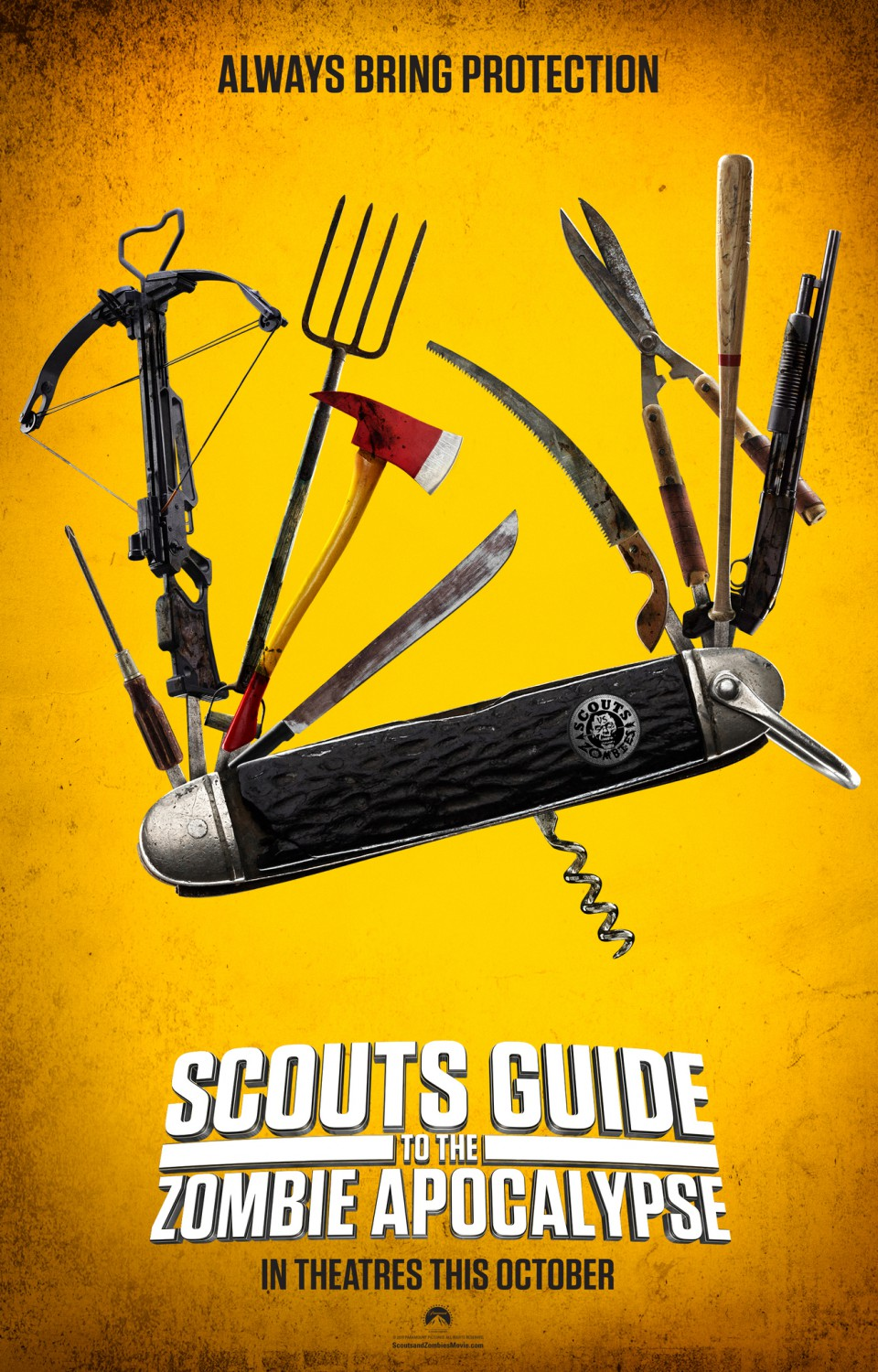 scouts guide to the zombie apocalypse teaser poster