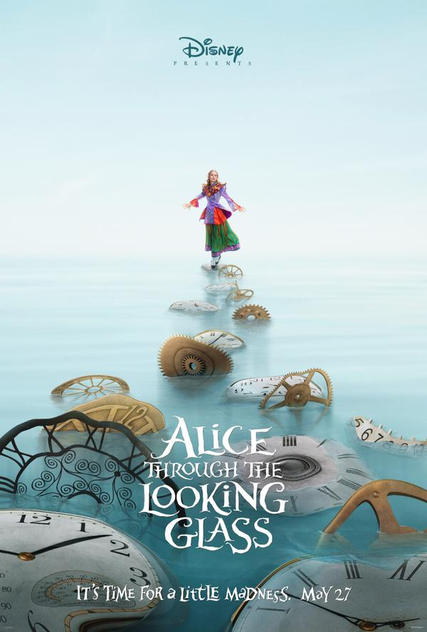 alice through the lokking glass poster 01