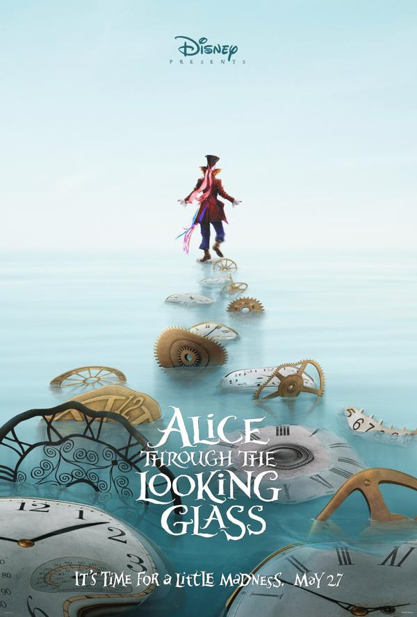alice through the lokking glass poster 02