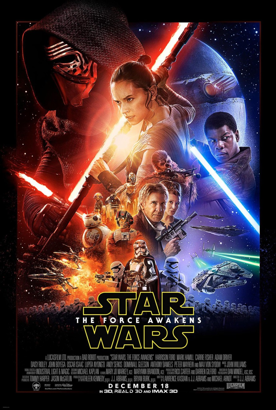 star wars the force awakens poster large