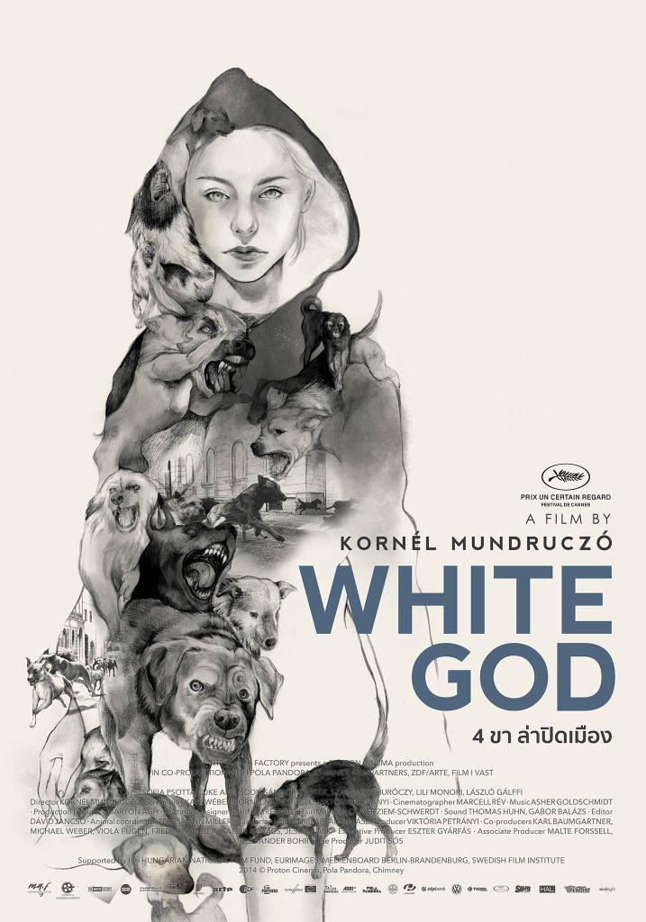 white god thai poster