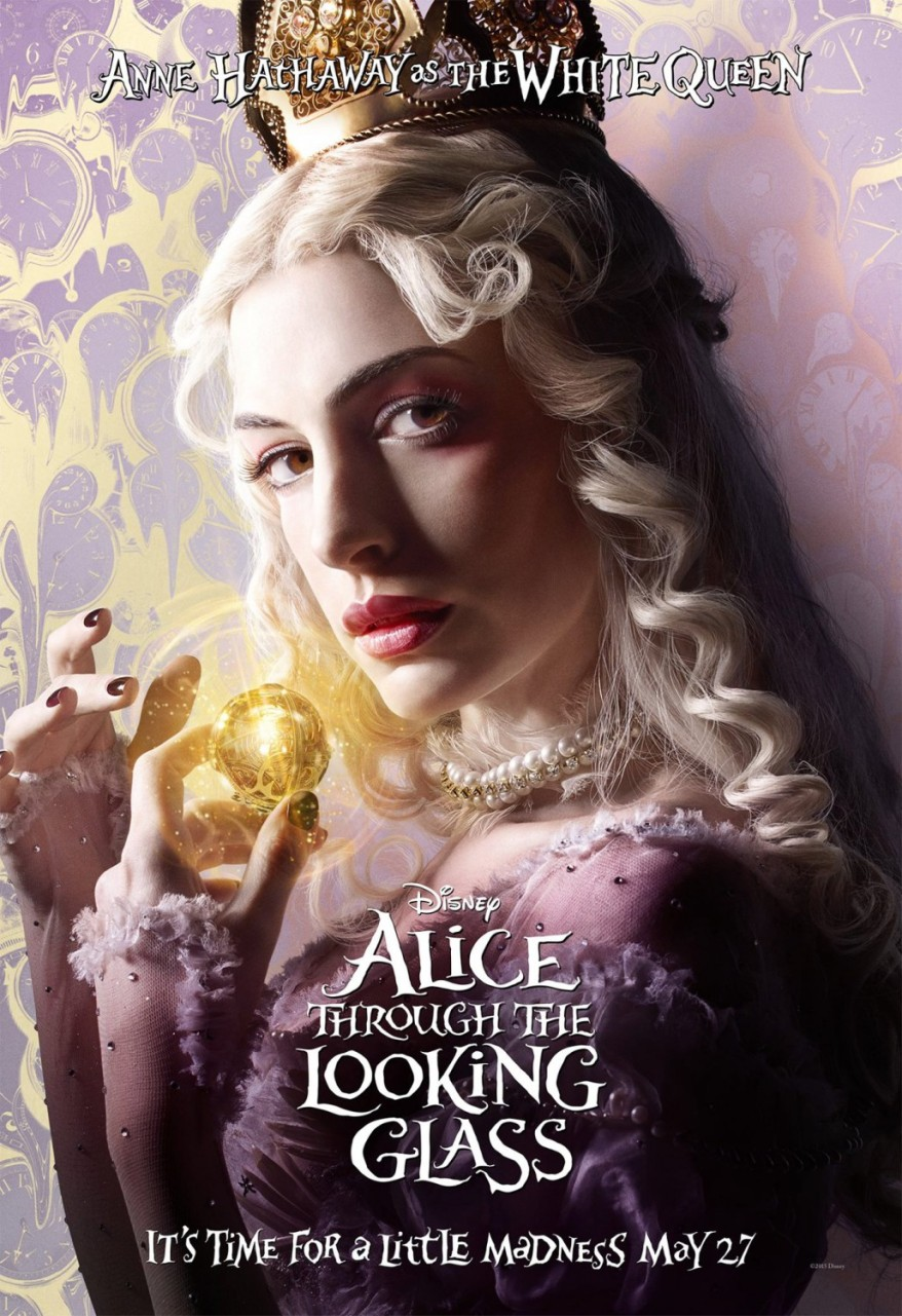 alice through the looking glass character poster 01
