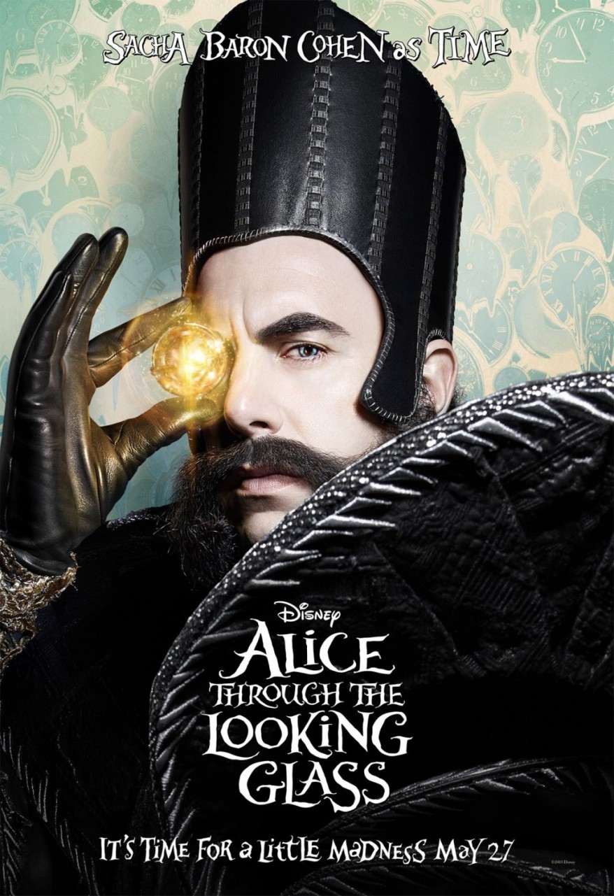 alice through the looking glass character poster 02