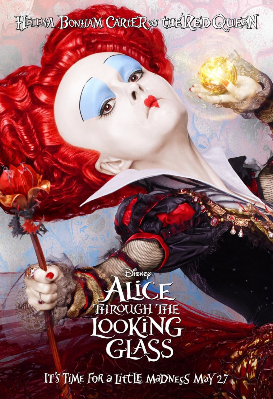 alice through the looking glass character poster 04