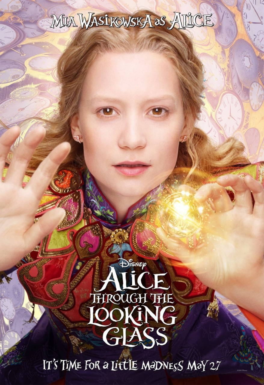 alice through the looking glass character poster 05
