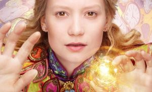 alice through the looking glass character poster header