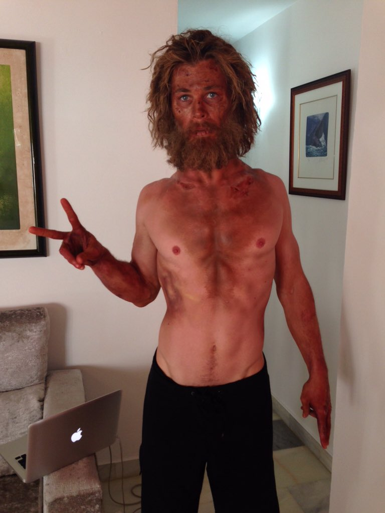 chris hemsworth diets for in the heart of the sea