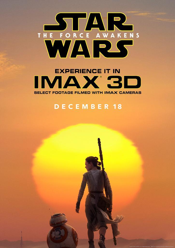 Force awakens imax poster
