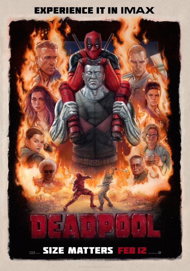 deadpool imax poster