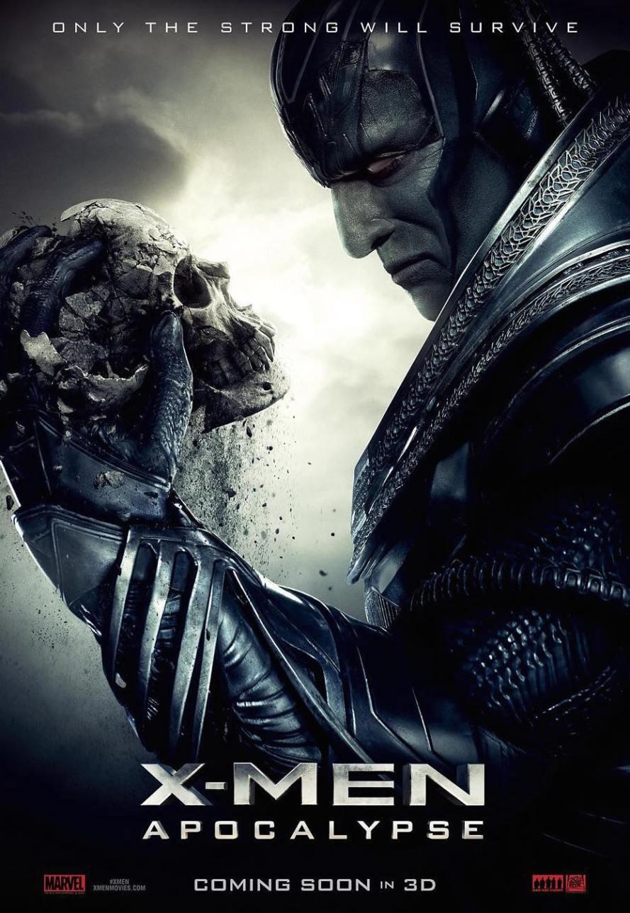 x men apocalypse new poster
