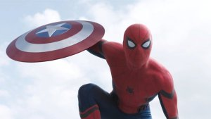 captain america civil war spider-man