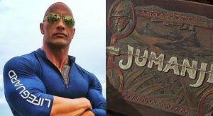 the rock jumanji