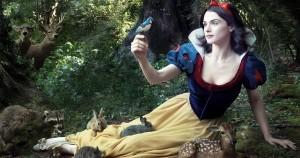 red rose snow white
