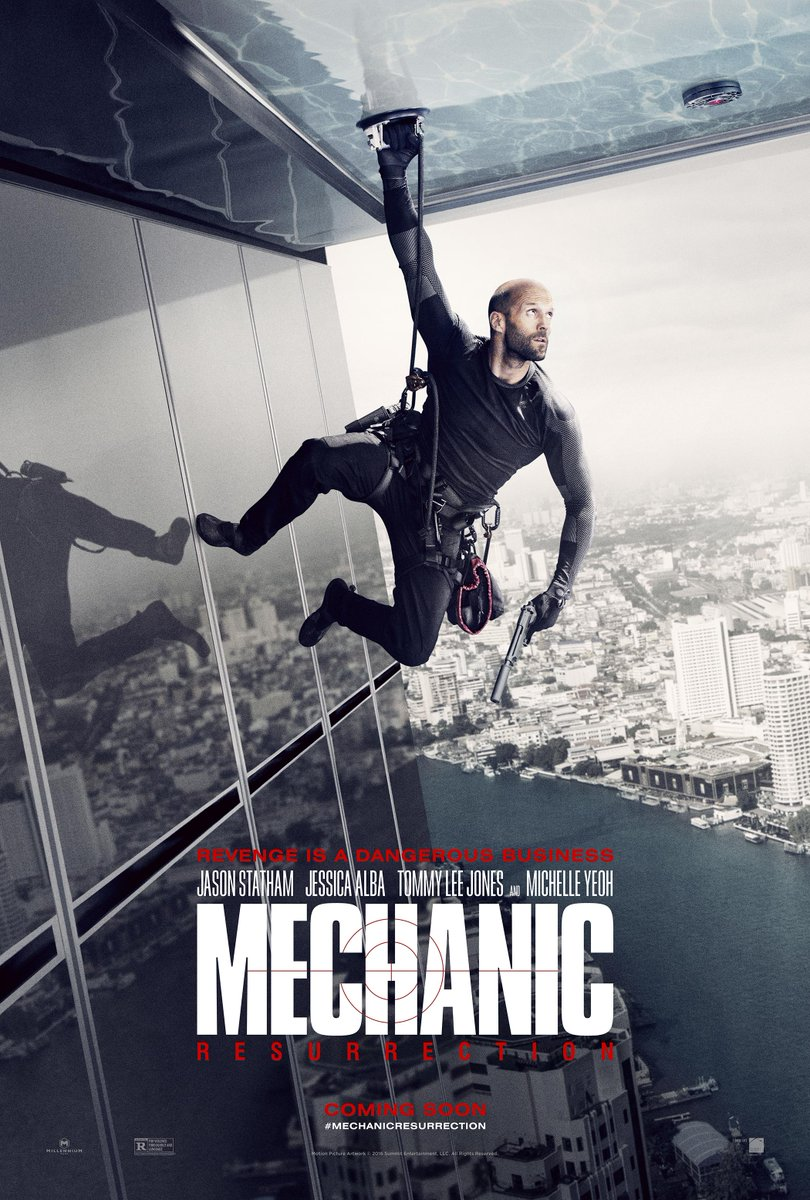 Mechanic Resurrection poster 01