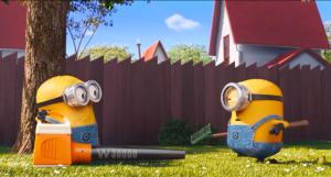 minions mower