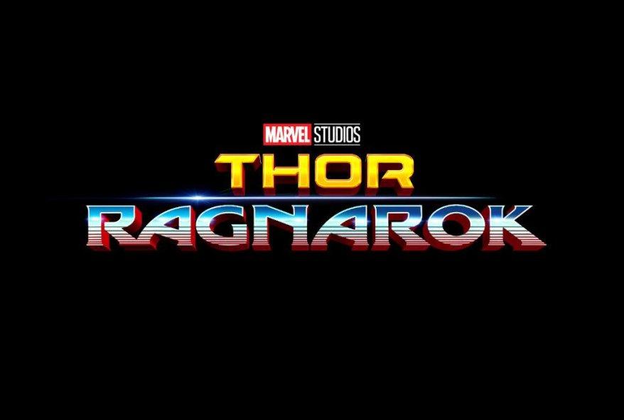 thor ragnarok new logo