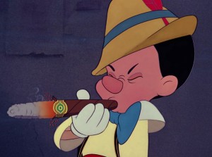 pinocchio smoking