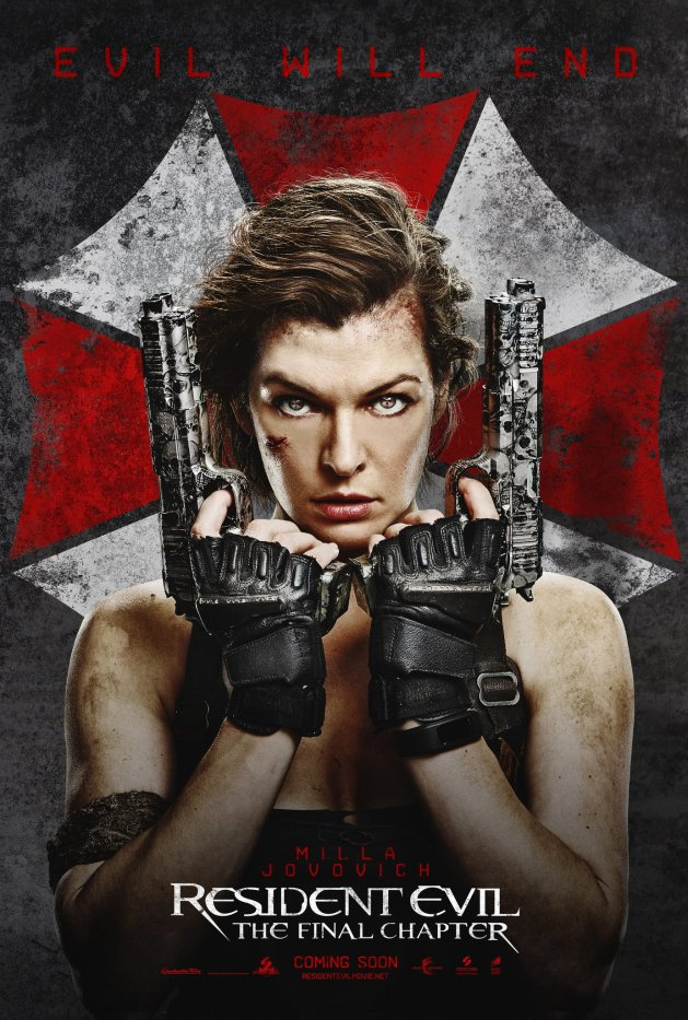 resident evil final chapter first poster 2