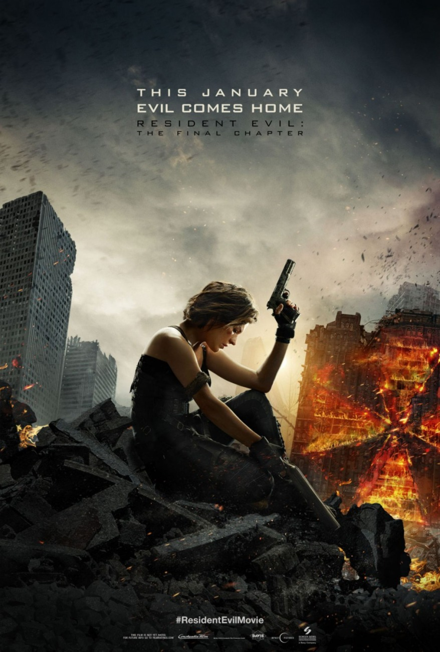 resident evil final chapter first poster 3