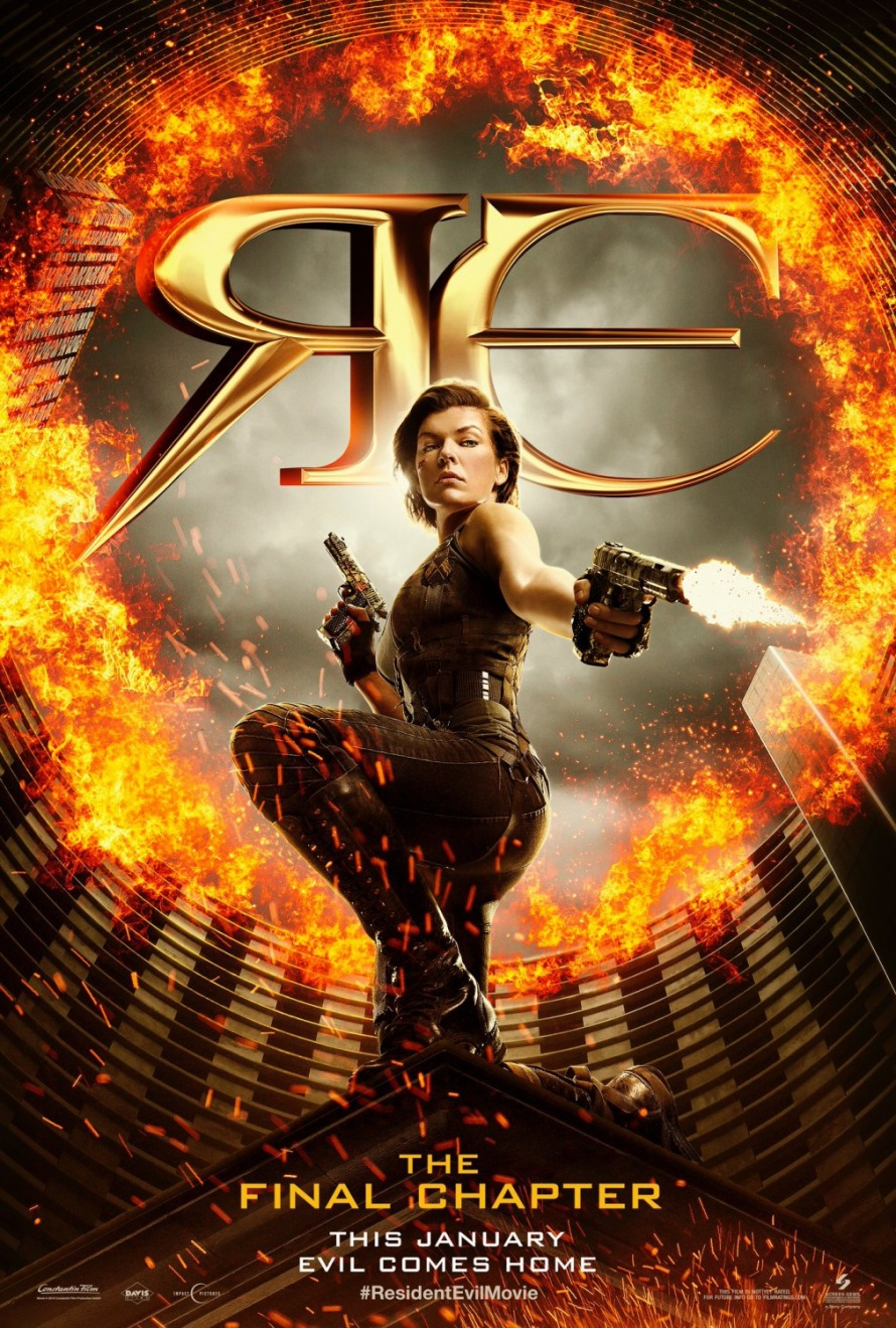 resident evil final chapter first poster