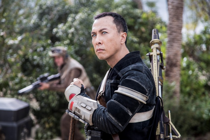 Rogue One: A Star Wars Story Chirrut Imwe (Donnie Yen) Ph: Jonathan Olley ©Lucasfilm LFL 2016.