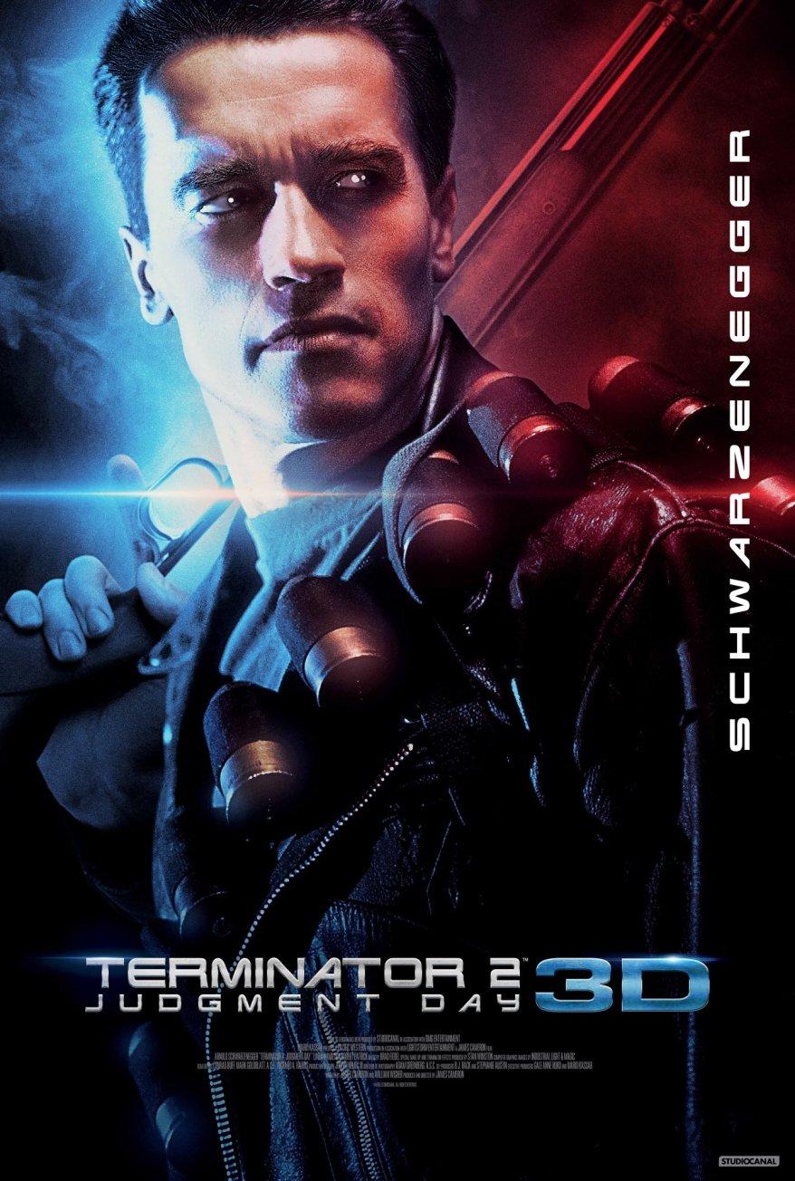terminator 2 3d poster