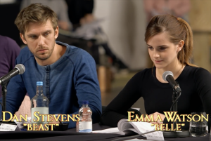 beauty and the beast live action reading